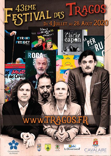 Affiche 43e festival des Tragos